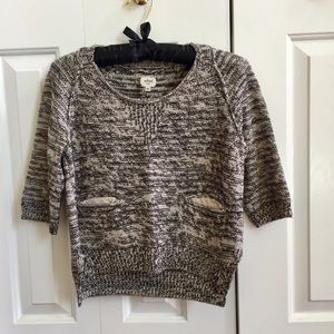 Aritzia Wilfred Cropped Sweater sz Small